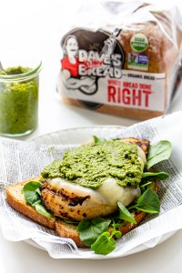 Grilled Chicken Pesto Sandwich - Real Food by Dad