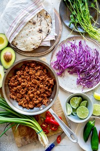Tempeh Tacos | Ingredients | Real Food by Dad copy