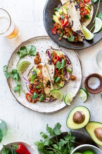 Tempeh Tacos via Real Food by Dad