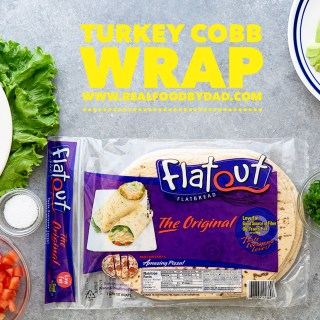 Turkey Cobb Wrap | Real Food by Dad