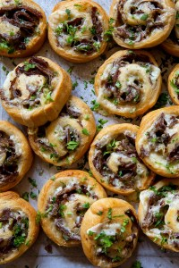 Philly Cheese Steak Pin Rolls - Real Food by Dad