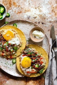 Breakfast Tostada | Real Food by Dad