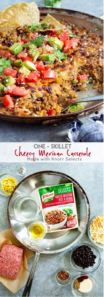 One-Skillet Cheesey Mexican Casserole