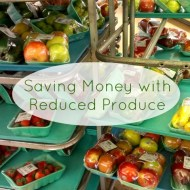 Saving Money with Reduced Produce