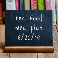 real food meal plan week 28