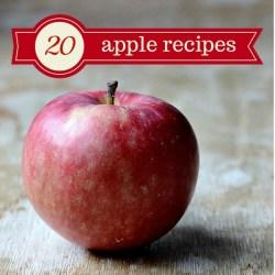 20 apple recipes sq
