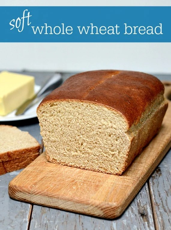 Believe it or not, you can make SOFT whole wheat bread. This recipe gives you all the tips you need to bake the perfect loaf of whole grain sandwich bread from scratch.