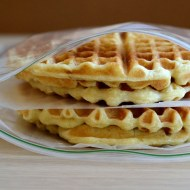Homemade Frozen Waffles