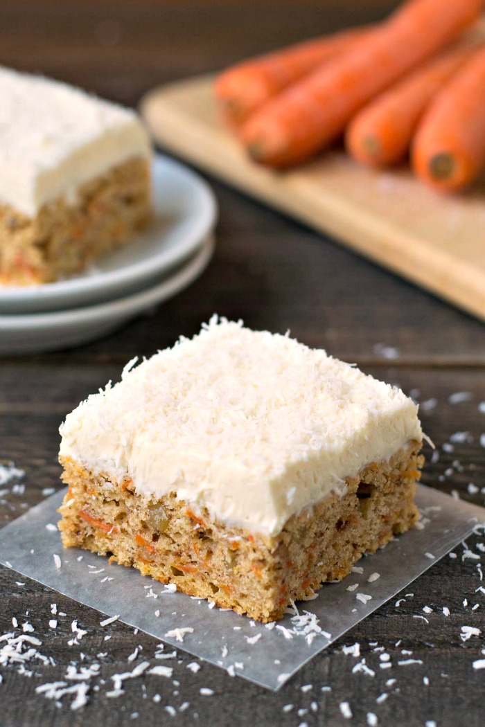 Gluten Free Carrot Cake #SundaySupper - Real Food Real Deals
