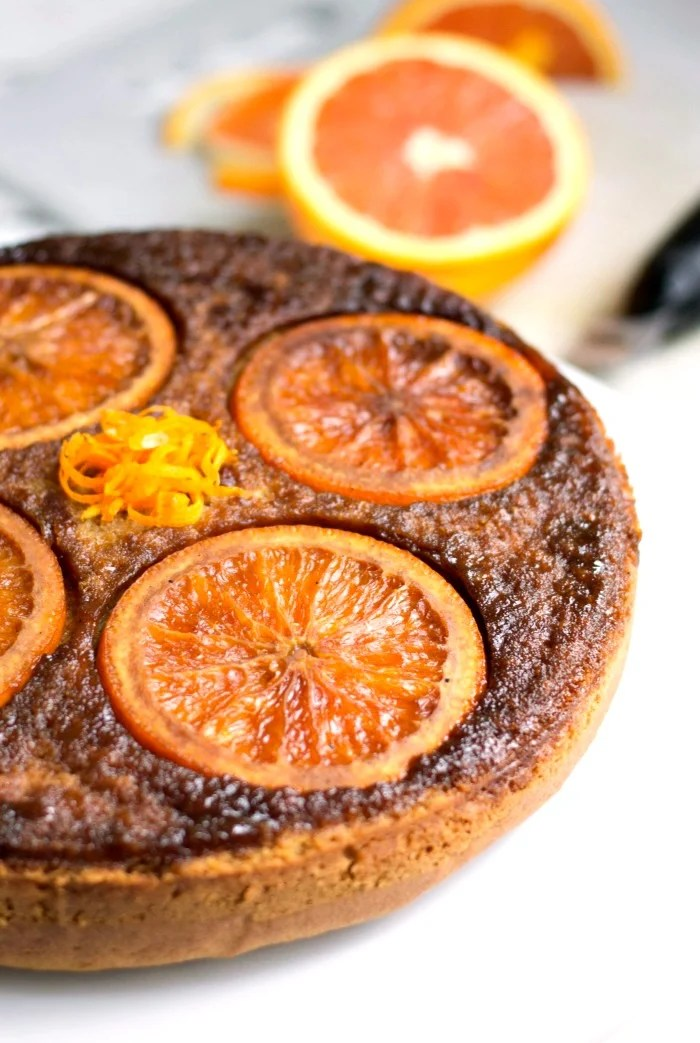This orange olive oil cake is such an easy, healthy dessert recipe ...