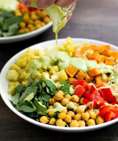 Vegetarian Power Bowl Recipe