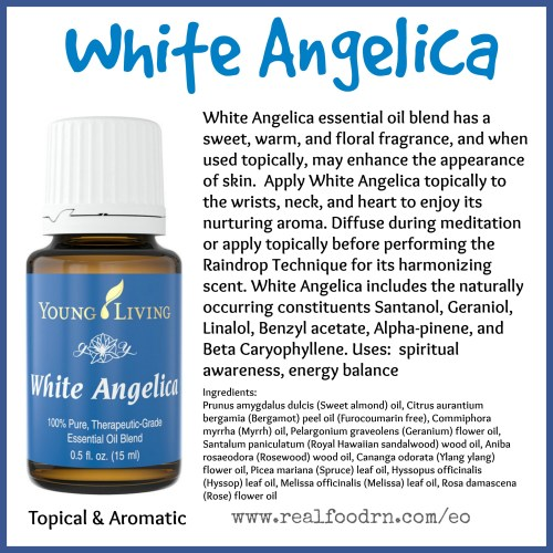 Pool angelica essential oil pin angelica essential oil real food rn medium of white flower oil mightylinksfo