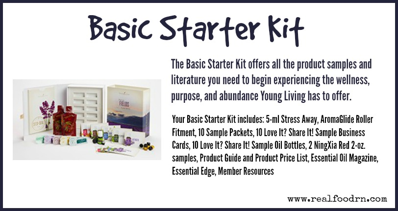 Basic Starter Kit - Real Food RN - product list samples