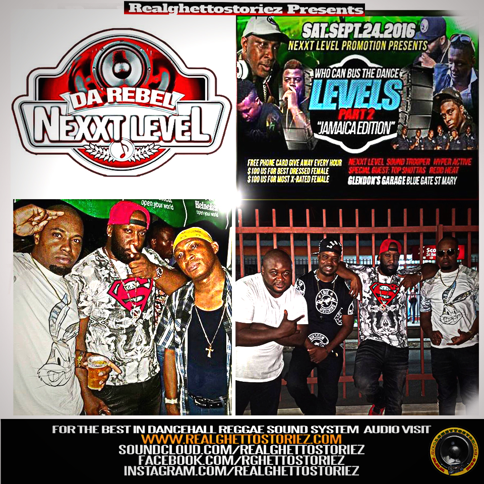 WHO CAN BUSS THE DANCE LEVELS PT 2 FEATURING NEXXT LEVEL TOP SHOTTAS SOUND