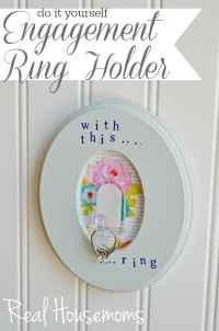 Engagement Ring Holder  Real Housemoms