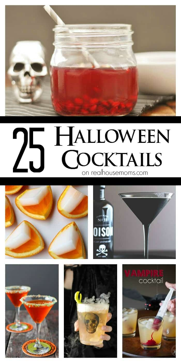 Easy Halloween Shots Recipes 25 Halloween Cocktails Real Housemoms