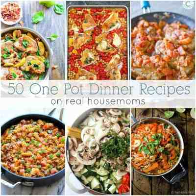 50 Easy One Pot Dinners ⋆ Real Housemoms