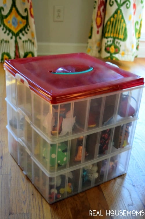 The Best Way to Pack and Organize Christmas Ornaments - Real Housemoms - how to store christmas decorations