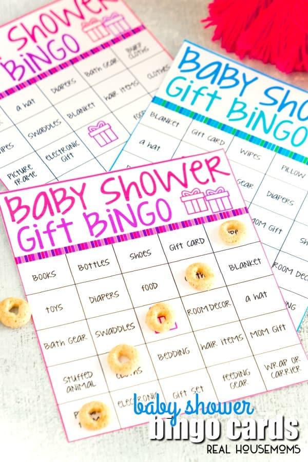 Baby Shower Bingo Cards ⋆ Real Housemoms