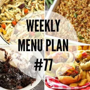 Weekly Meal Plan Archives ⋆ Real Housemoms