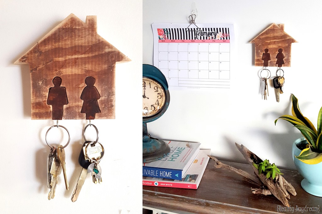 His Hers Key Rack Using A Scroll Saw Reality Daydream