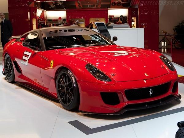 6. Ferrari 599XX