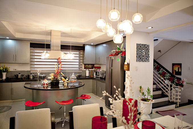 10 By 10 Kitchen Layout With Island Maja Salvador's Kitchen And Dining Area In Her Antipolo