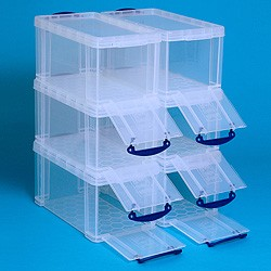 Go Shopping Really Useful Boxes 8 Litre Open Front