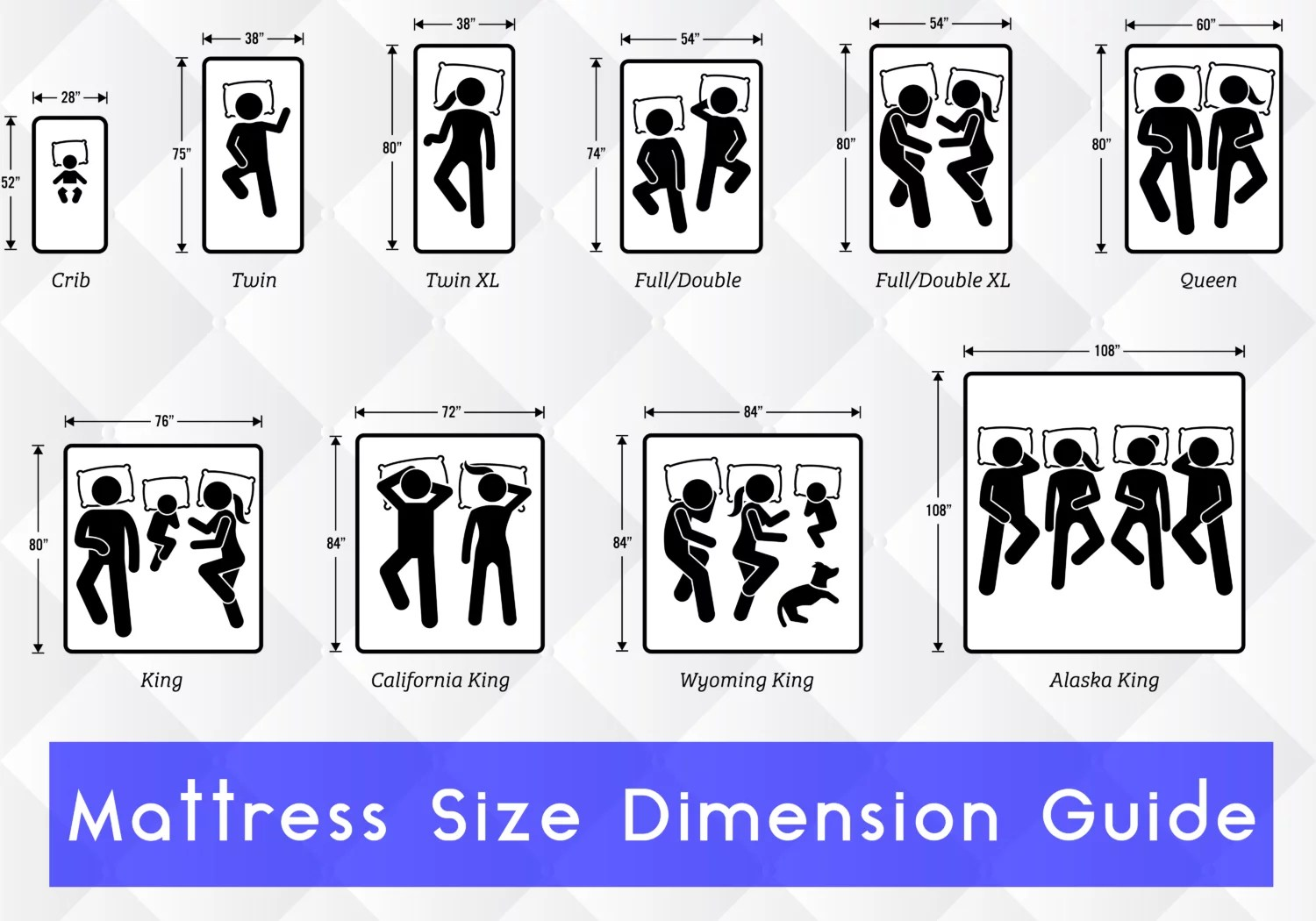 Bunk Bed Dimensions Mattress Size Chart And Mattress Dimesions Mattress Size