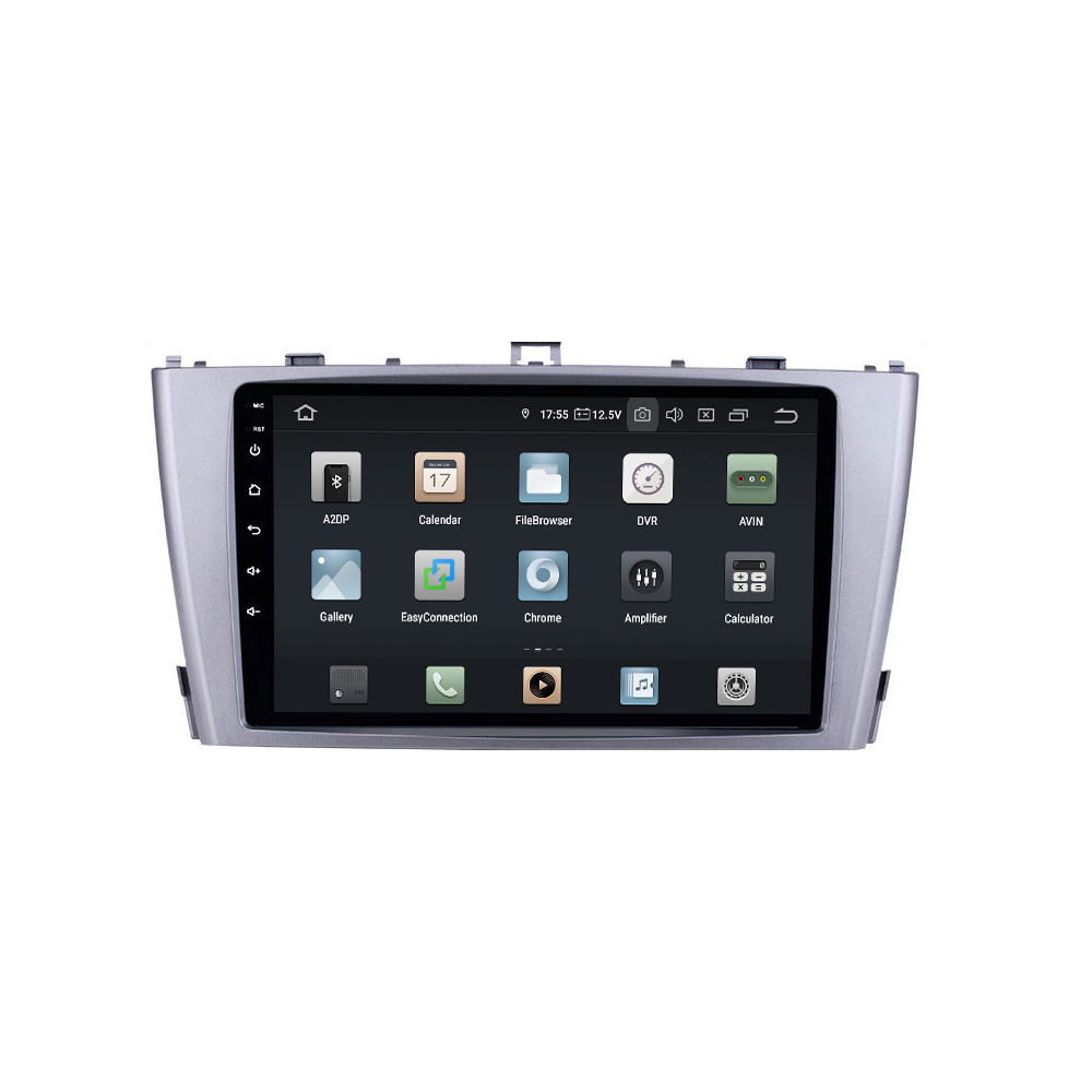 Real Sonnenschirm Toyota Avensis Android 8 Touchscreen Autoradio Gps Navi