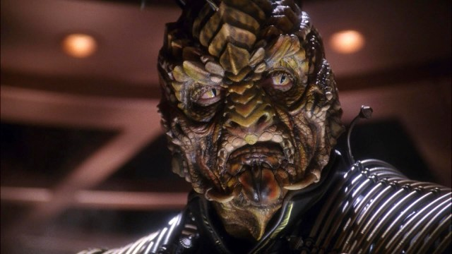 The Xindi always made me think of Galaxy Quest