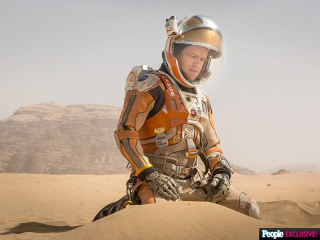 The Martian Shows Damon and Scott at Their Best