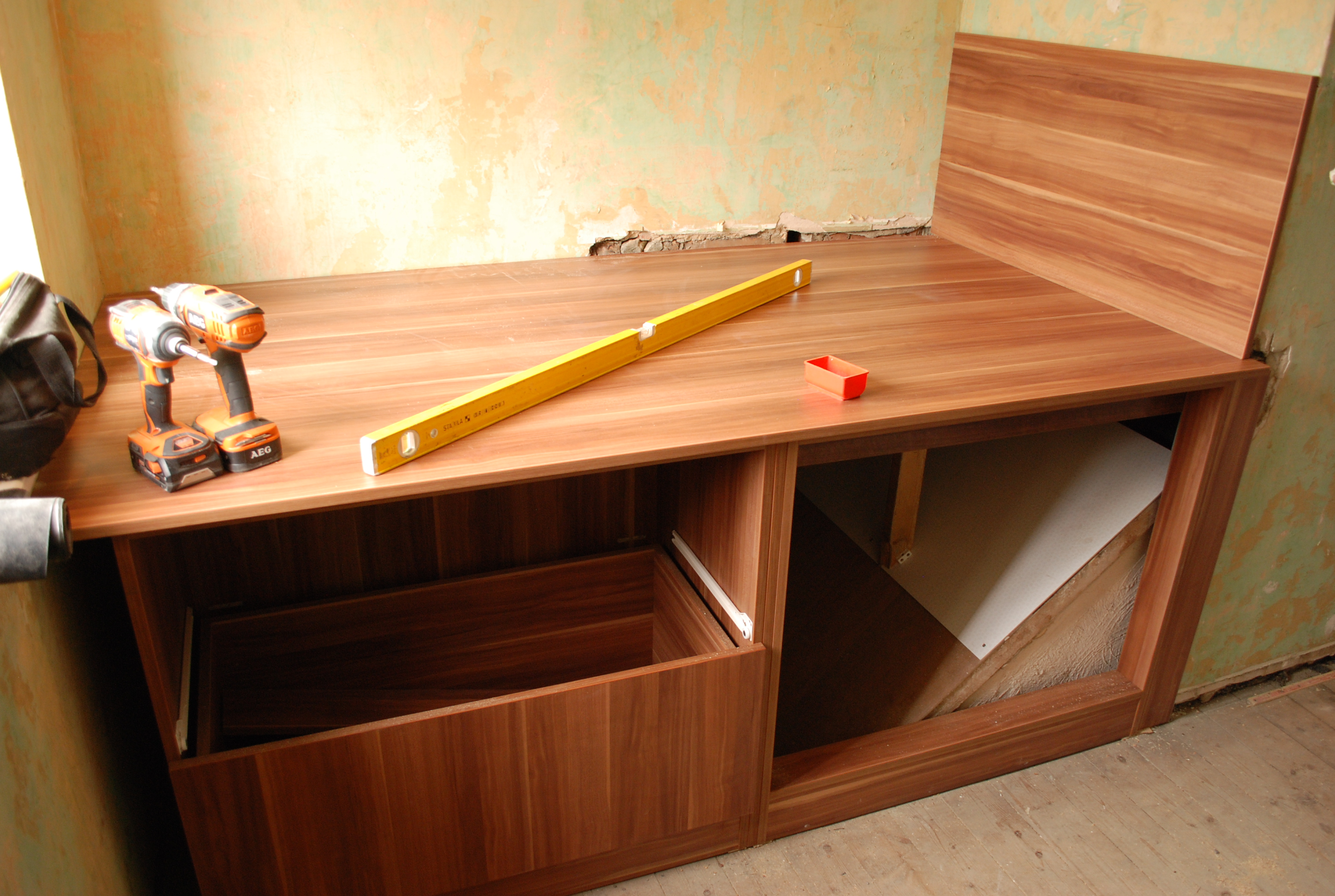 Cabin Bed With Drawers