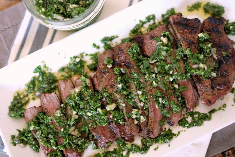 how to make chimichurri sauce for steak
