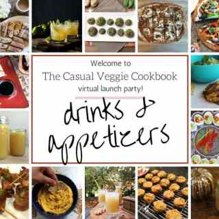 Casual Veggie Launch Drinks and Apps