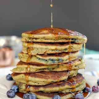 Paleo-blueberry-pancakes