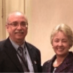 Support Sustainability: RealtyNewsReport Editor Ralph Bivins and Houston Mayor Annise Parker.
