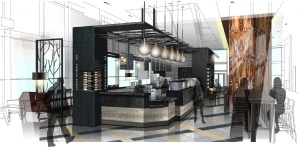 Beer and Wine to be served at new kind of Starbucks in Hilton Americas-Houston, a Houston First Corp. property.