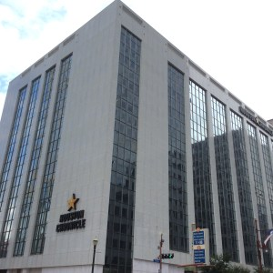 The 10-story Houston Chronicle building, 801 Texas Ave. is being sold. Photo: Ralph Bivins