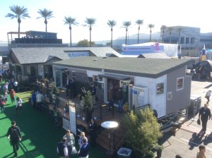 Outdoor displays at the IBS convention in Las Vegas. (Photo by Ralph Bivins)