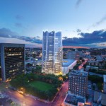 Rendering of Frost Tower in downtown San Antonio.