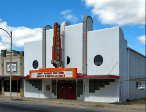 Historic Heights theater is among properties being renovated for retail and entertainment use.