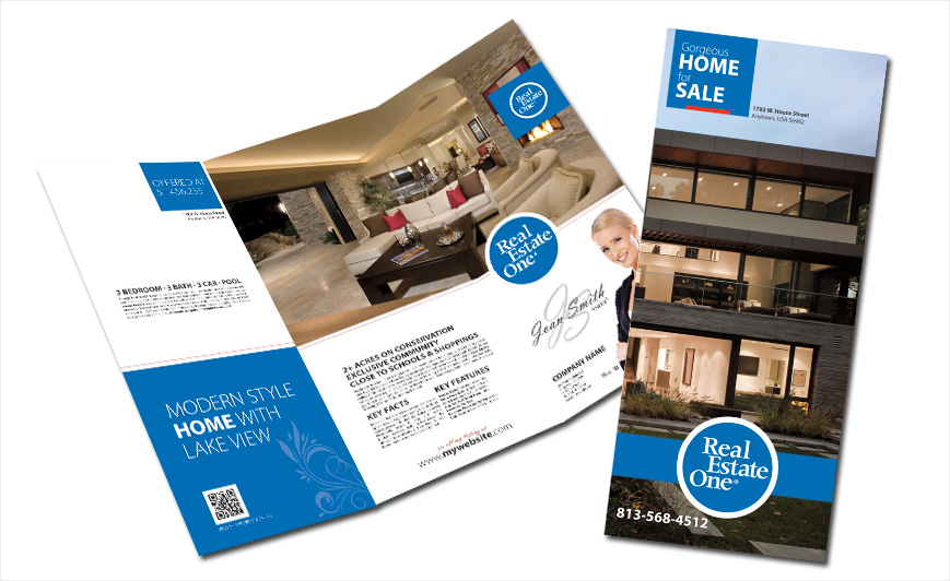 Real Estate One Brochures Real Estate One Brochure Templates