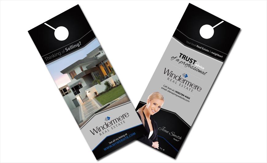 Windermere Real Estate Door Hangers Windermere Door Hanger Ideas