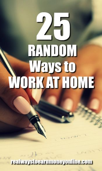 25 Random Ways To Make Money From Home   Good Job Qualifications  Good Job Qualifications