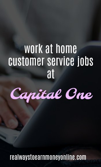 Capital One Work From Home Jobs - Make $13+ Hourly!