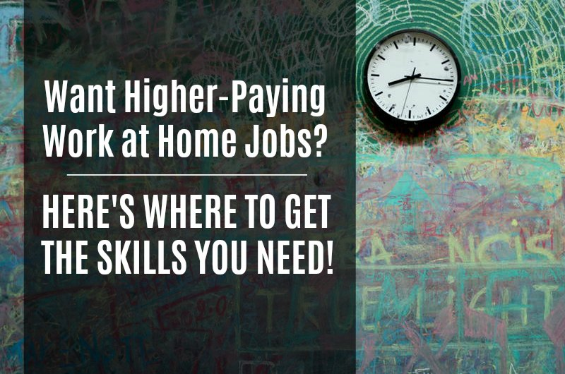 Cheap (Or Free) Online Courses For Higher-Paying Work at Home Jobs - how to do a resume on word 2010