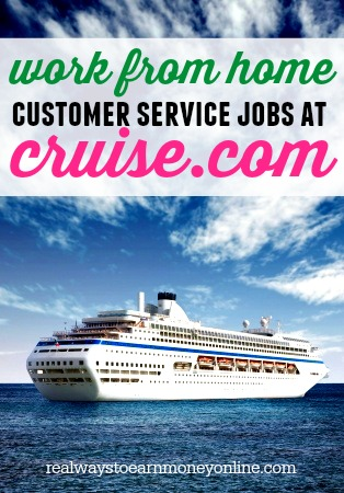 Work From Home Customer Service For Cruise - Pays $10+ Hourly!
