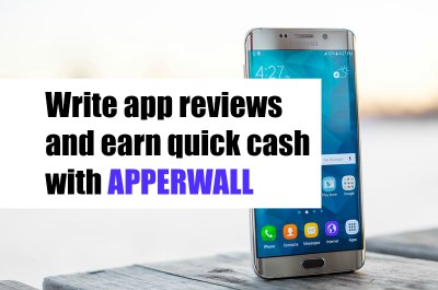 Earn Quick Cash Writing App Reviews Through Apperwall