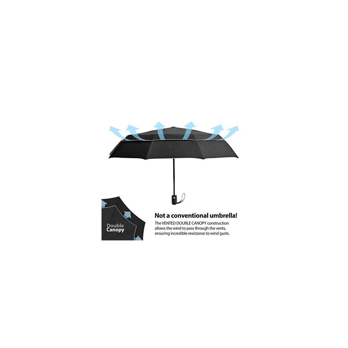 Compact Travel Umbrella Walmart Eez Y Compact Travel Umbrella W Uv Protection Upf 50 Sun